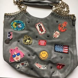 Handbags - BEAUTIFUL PURSE WITH PATCHES